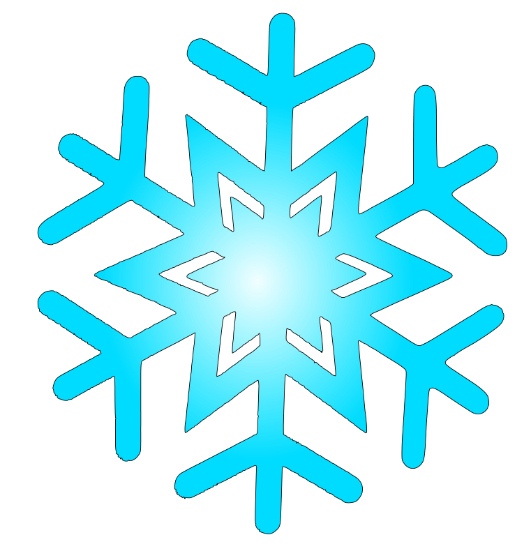 Free snow flake 8