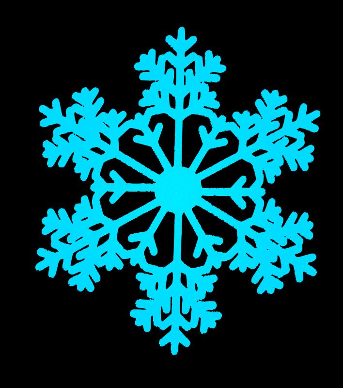Free snow flake 6