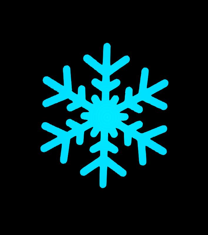 Free snow flake 4
