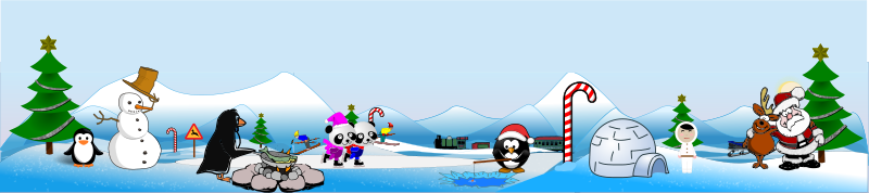 Free Artic North Pole Scene and Action View