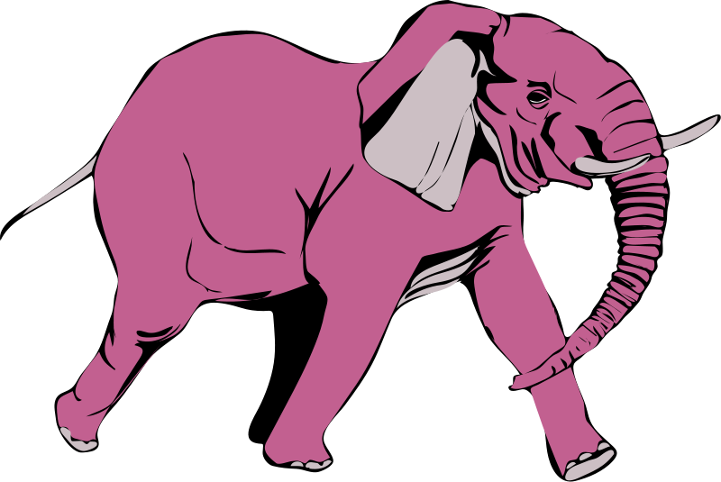 Free Pink elephant on the rampage
