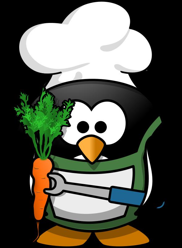 Free Veggie-Penguin