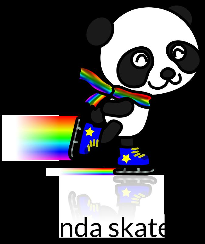 Free Panda Skater Recolored