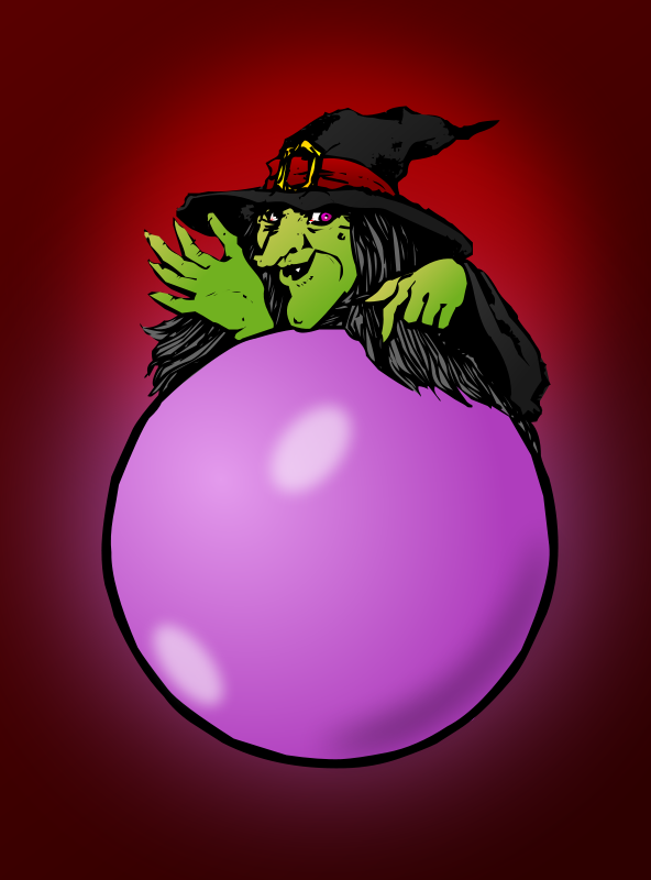 Free Colored: Crystal ball