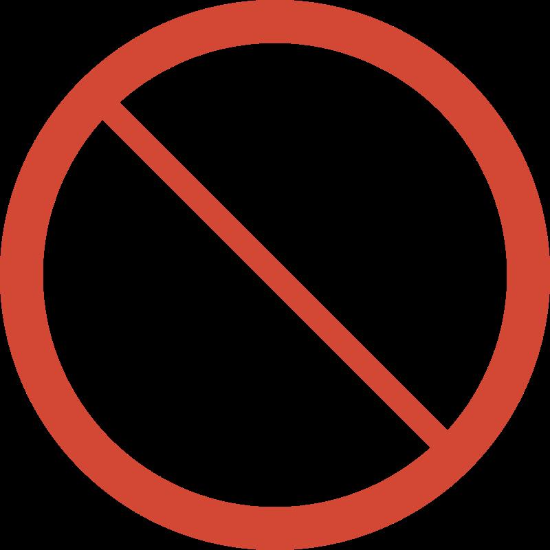 Free No Camera Sign
