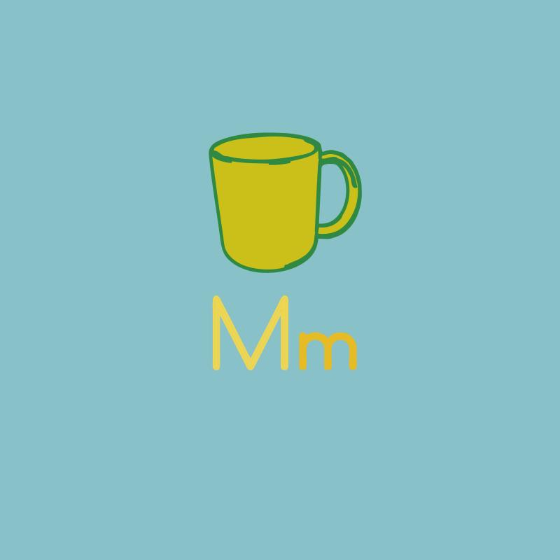 Free color_the_alphabet M m fourseasons/spring