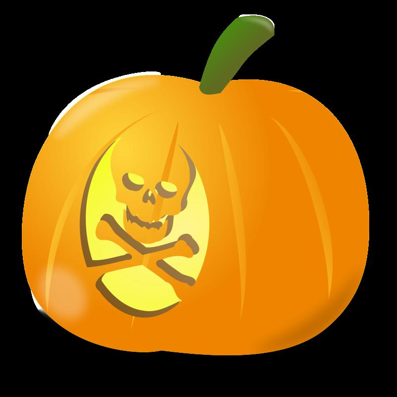 Free Skull pumpkin