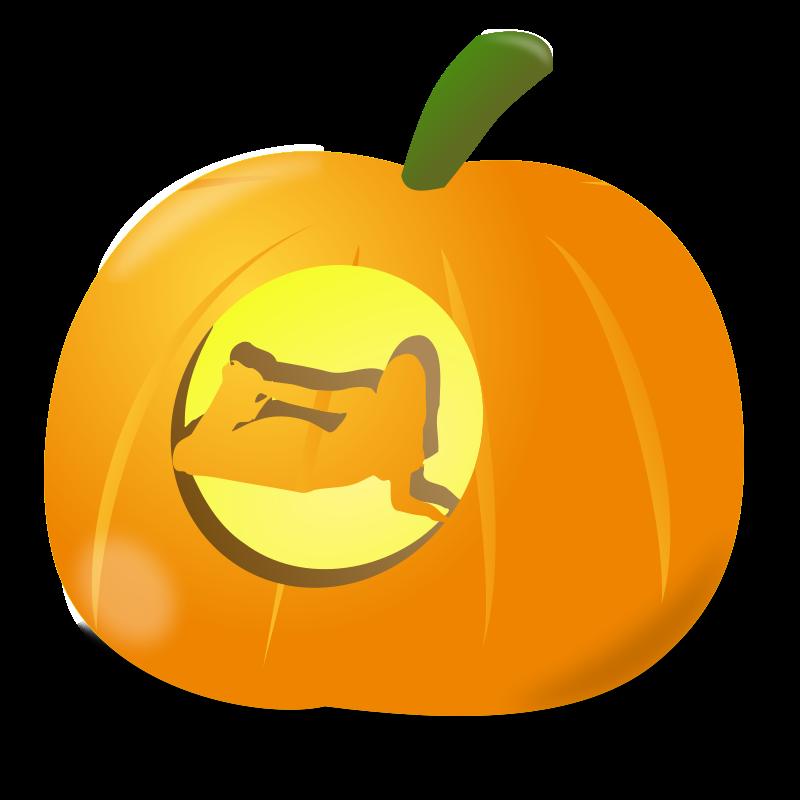 Free Girl pumpkin