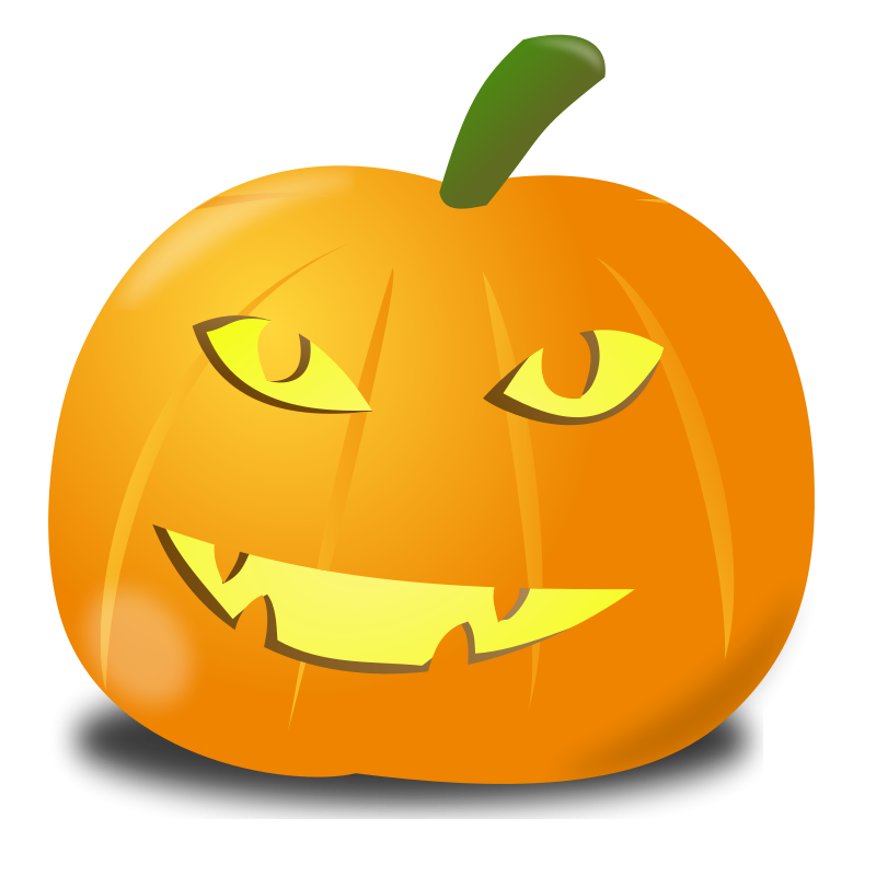Free Clipart: Happy pumpkin | nicubunu