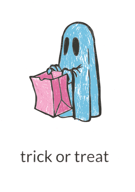 Free Trick or Treat recolored