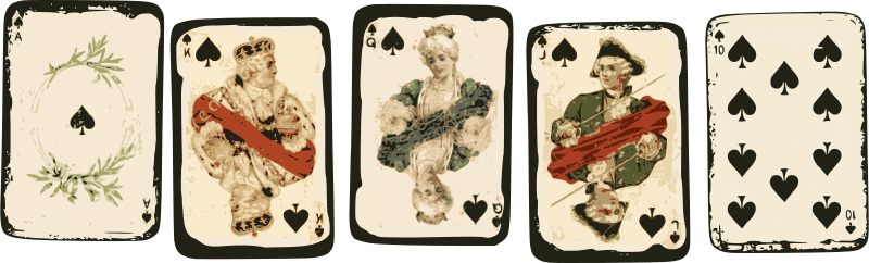 Free Royal Flush - Poker Cards