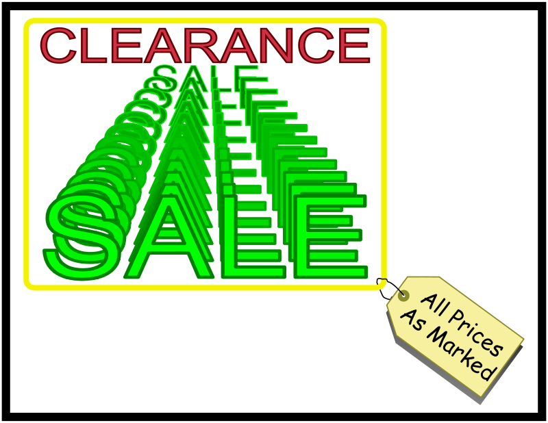 Free Clearance Sale