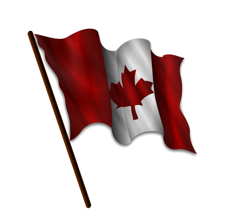Free Clipart: Canadian Flag 9 | Merlin2525