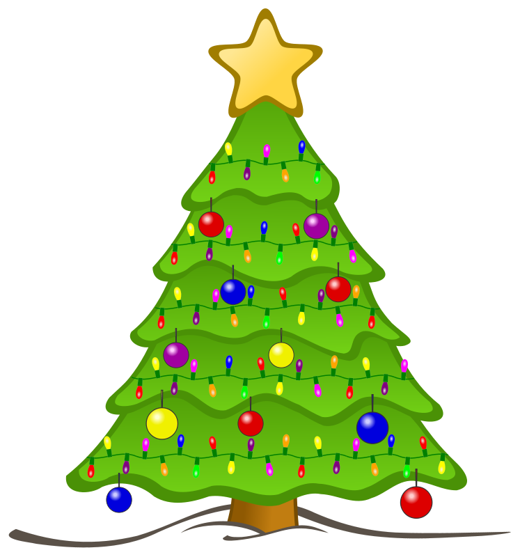 Free Animated Christmas Tree