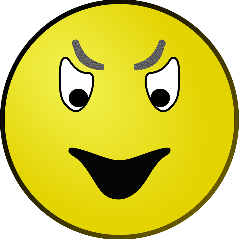 Free Evil Smiley