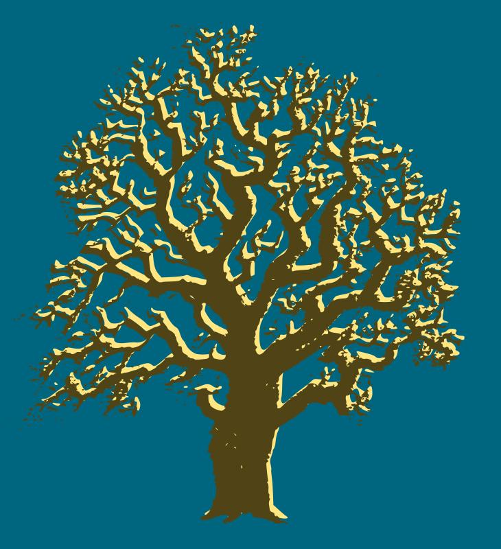 Free Oak Tree - 3 Colours