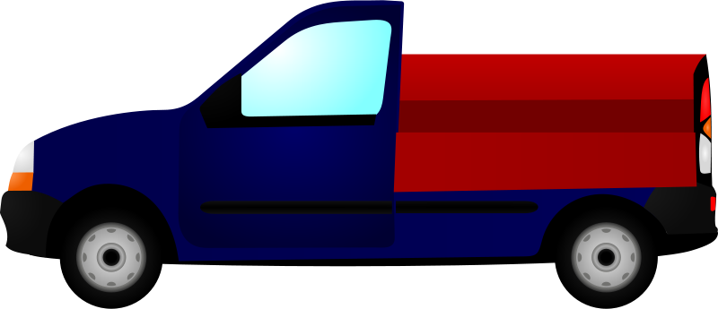 Free Clipart: Small Truck | cyberscooty