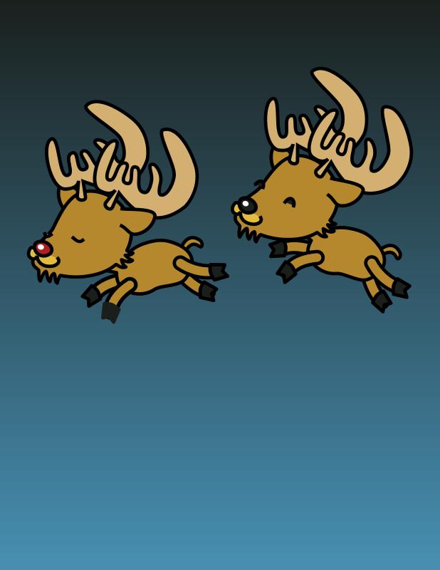 Free Caribou colored