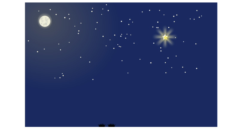 Free Nativity scene background