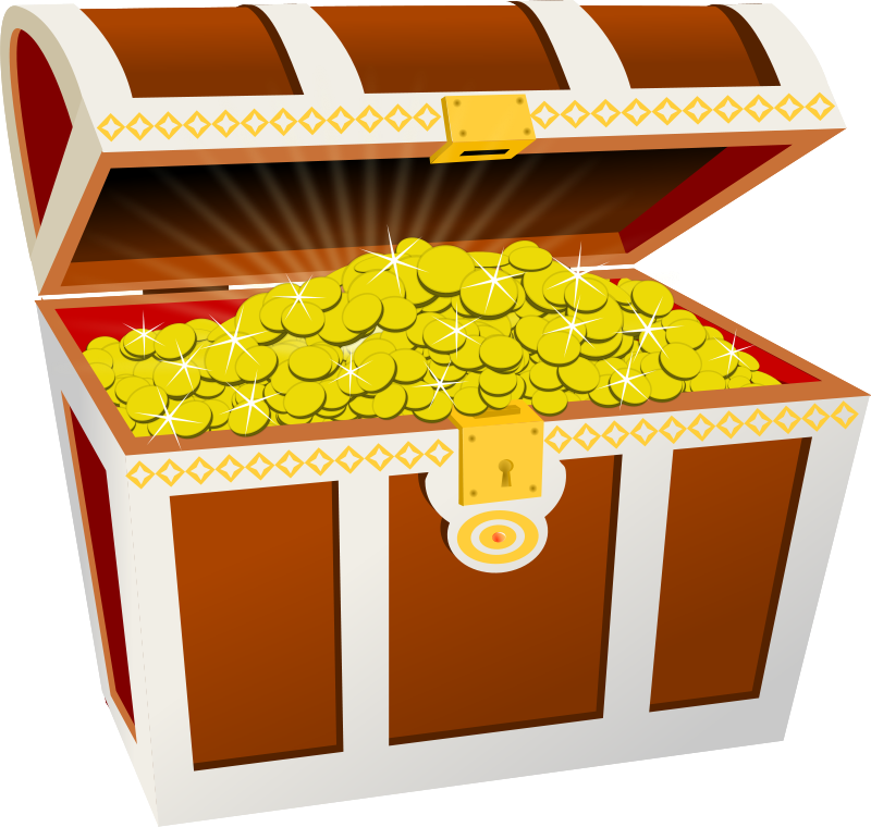 Free Clipart: Treasure chest | Moini