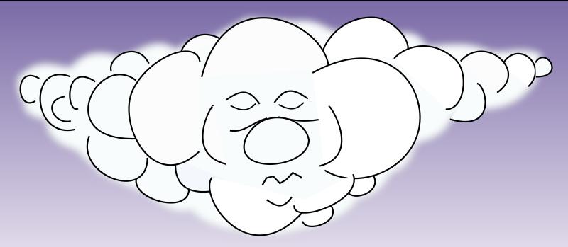 Free Sleeping cloud