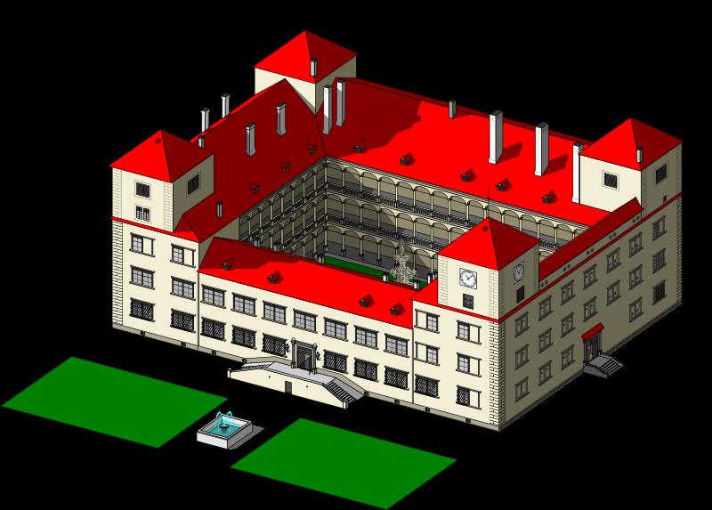 Free chateau Bučovice