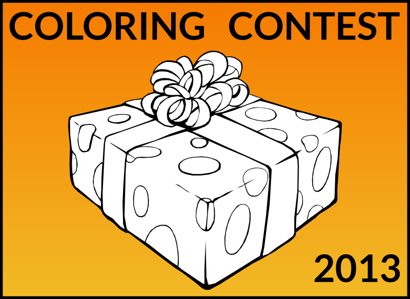 Free Join Openclipart Coloring Contest!