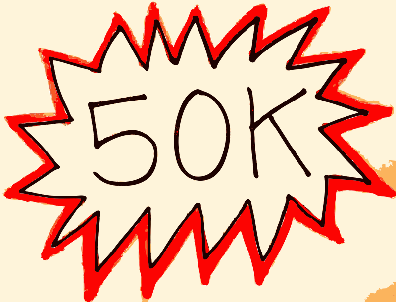 Free Openclipart hits 50K!