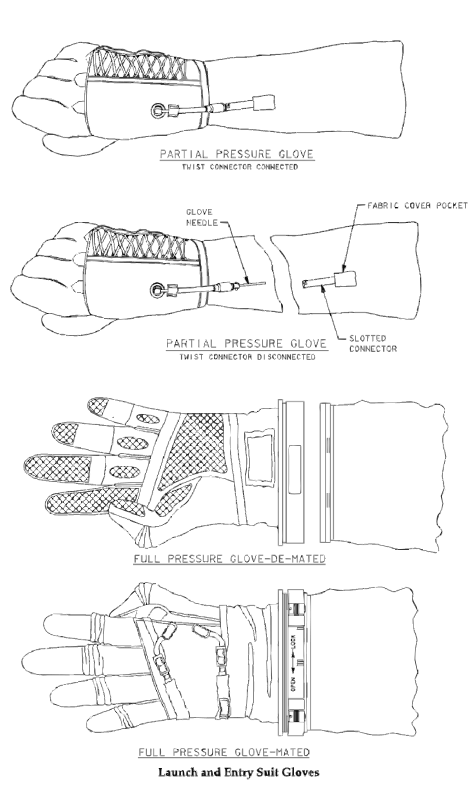 Free NASA flight suit development images 351-373 11