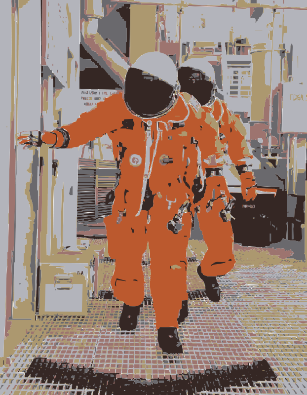 Free NASA flight suit development images 351-373 9