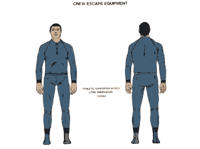 Free NASA flight suit development images 325-350 21
