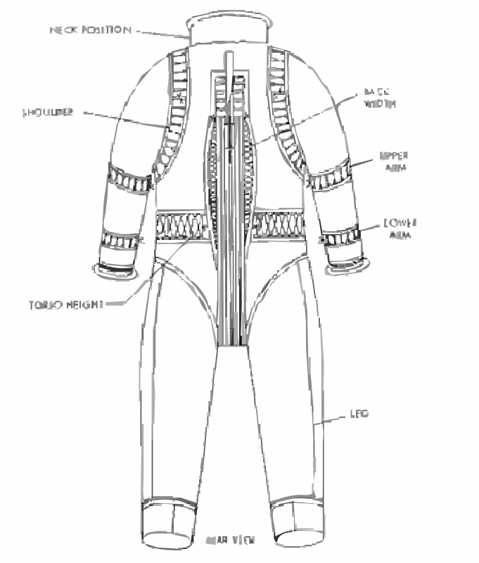 Free NASA flight suit development images 276-324 20