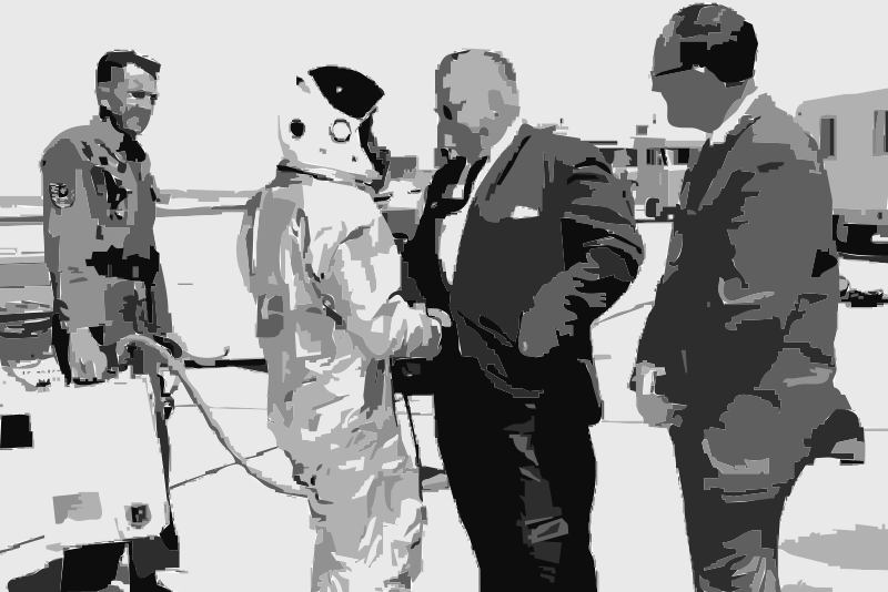 Free Clipart: NASA flight suit development images 223-252 28 | hypermodern