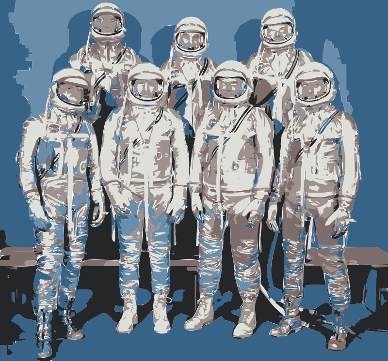 Free NASA flight suit development images 13