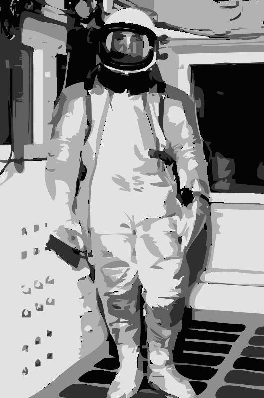 Free NASA flight suit development images 11