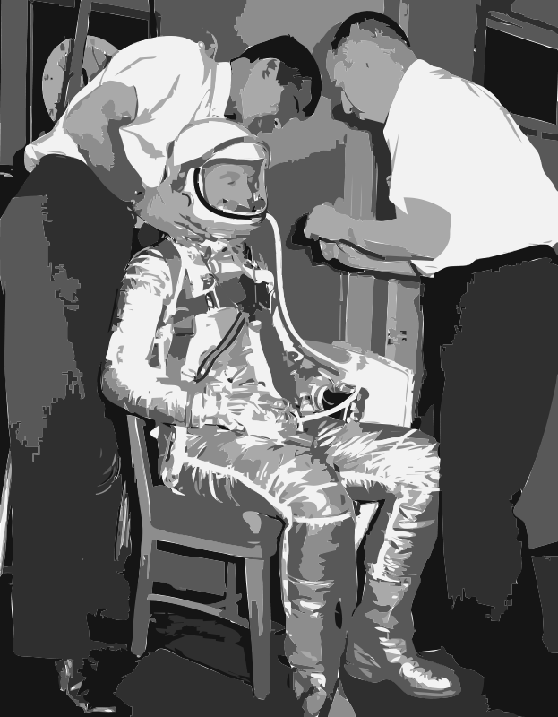 Free NASA flight suit development images 10