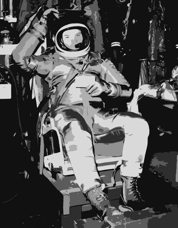 Free NASA flight suit development images 3