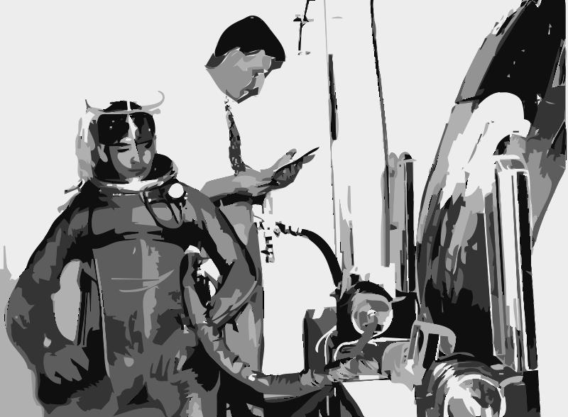 Free NASA flight suit development images 35