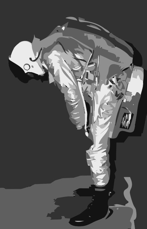 Free NASA flight suit development images 16