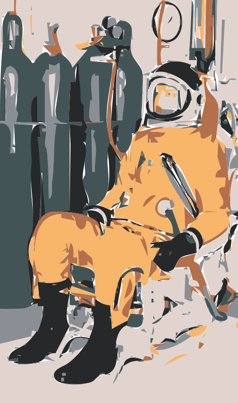 Free NASA flight suit development images 12