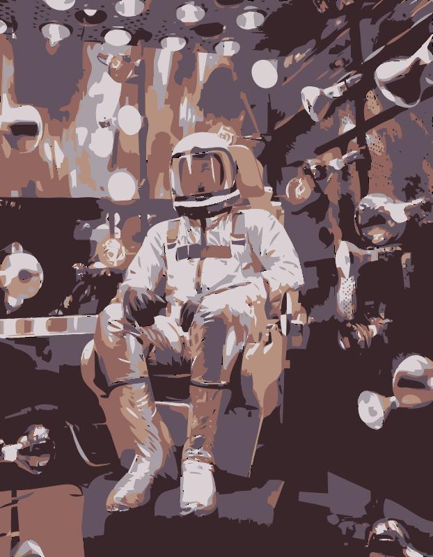 Free NASA flight suit development images