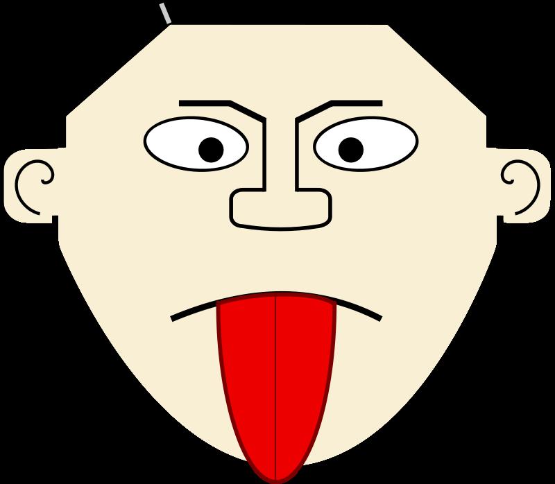 Free Cartoon Tongue