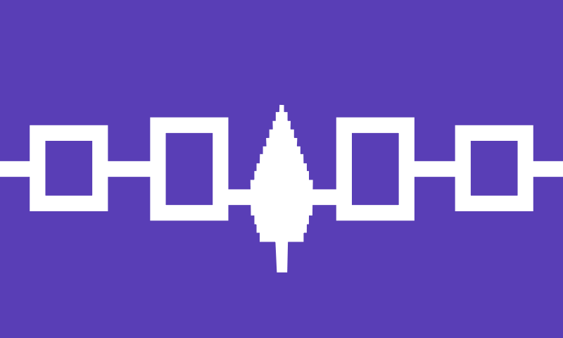 Free Iroquois Confederacy flag