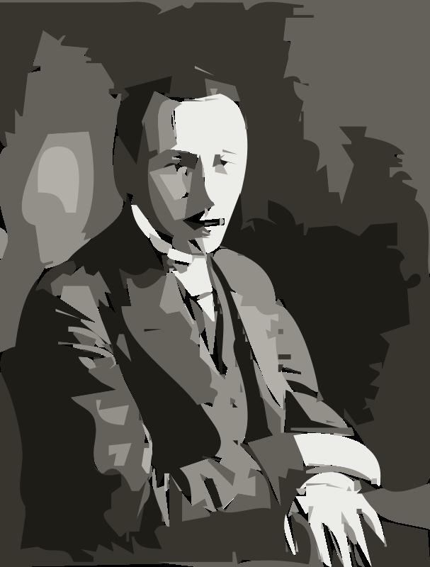 Free Rachmaninov in 1901 (autotrace)