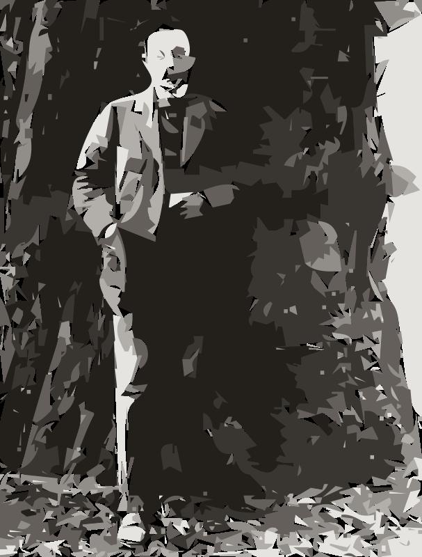 Free Sergei Rachmaninoff in California  (autotrace)