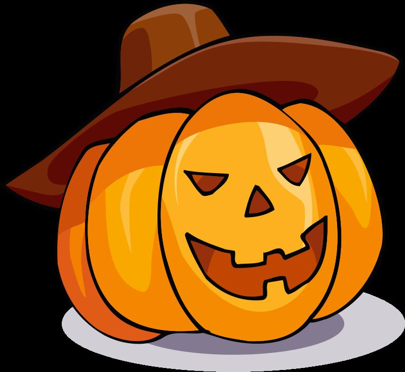 Free Pumpkin in a hat