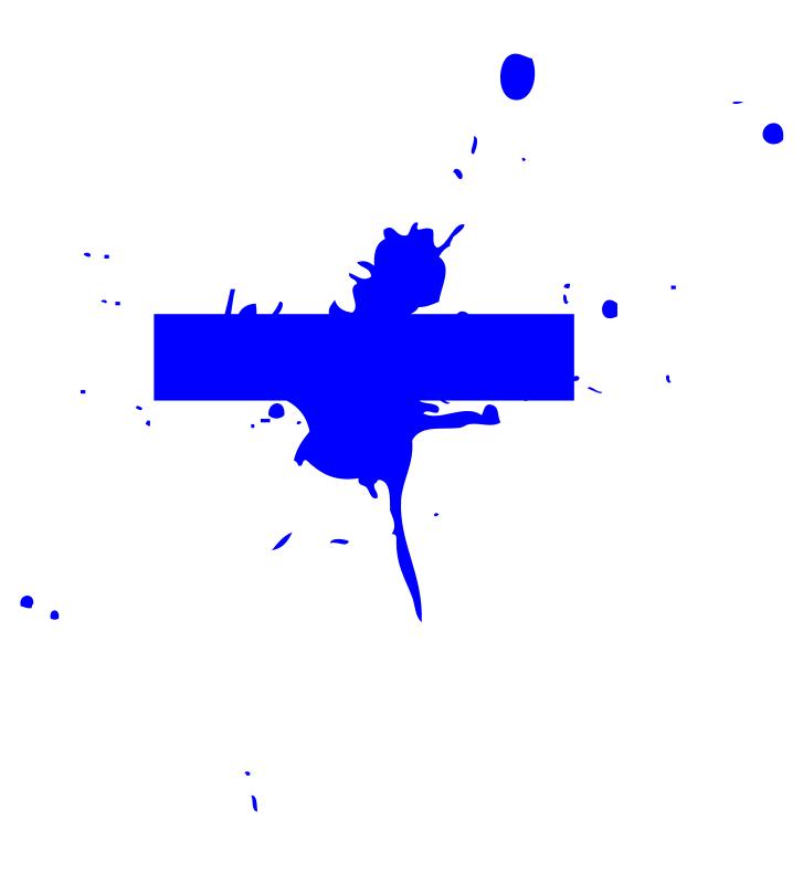 Free Blue tile splat