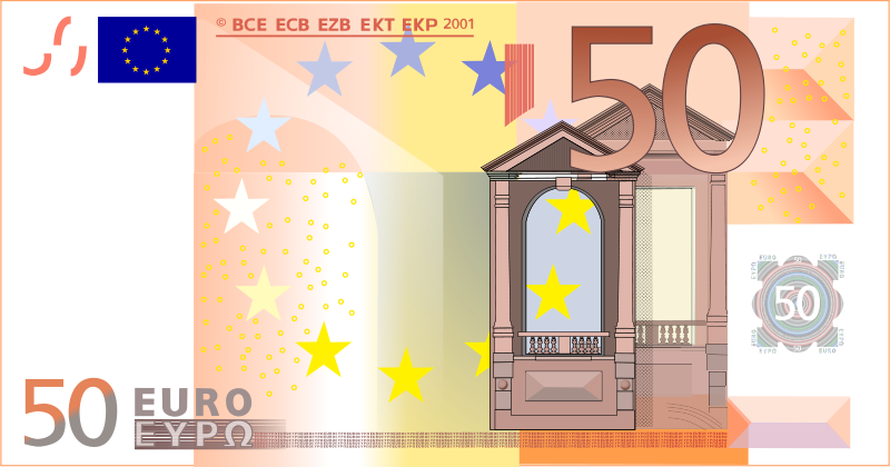 Free 50 Euro Note