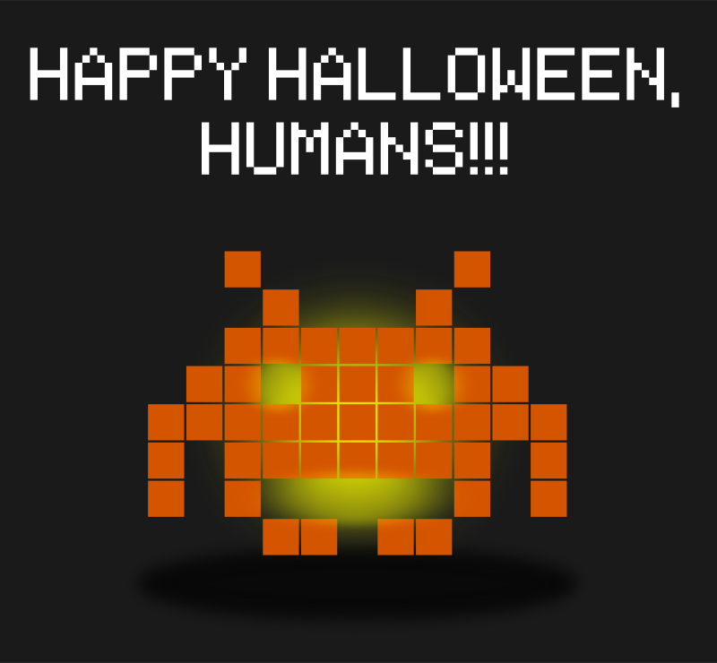 Free Halloween Invaders