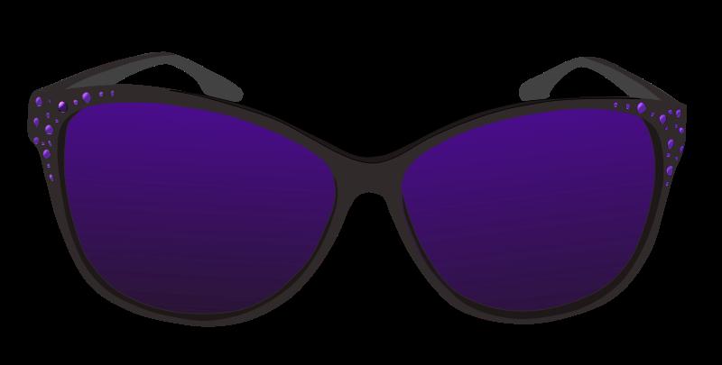 Free Clipart: Purple sunglasses | Pippi2011